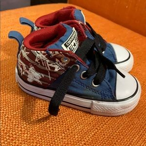 Special edition American Flag Converse Shoes